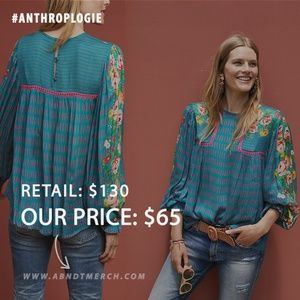 Eclectic Peasant Blouse